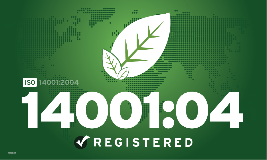ISO 14001:2004 Flags, Banners & Graphics