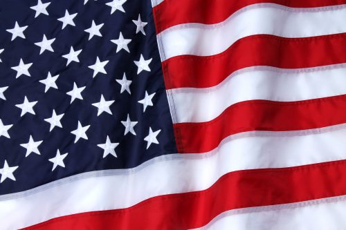 Outdoor Nylon American Flag