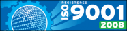 ISO 9001:2008 Banner