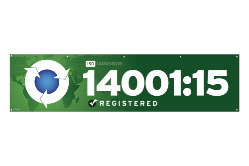 ISO 14001 2015 Banner