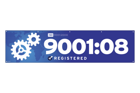 ISO 9001 2008 Banner