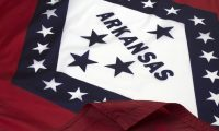 Arkansas Flag Close Up