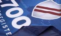 ISO 27001 Flag Close Up