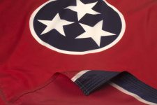 Tennessee Flag Close Up