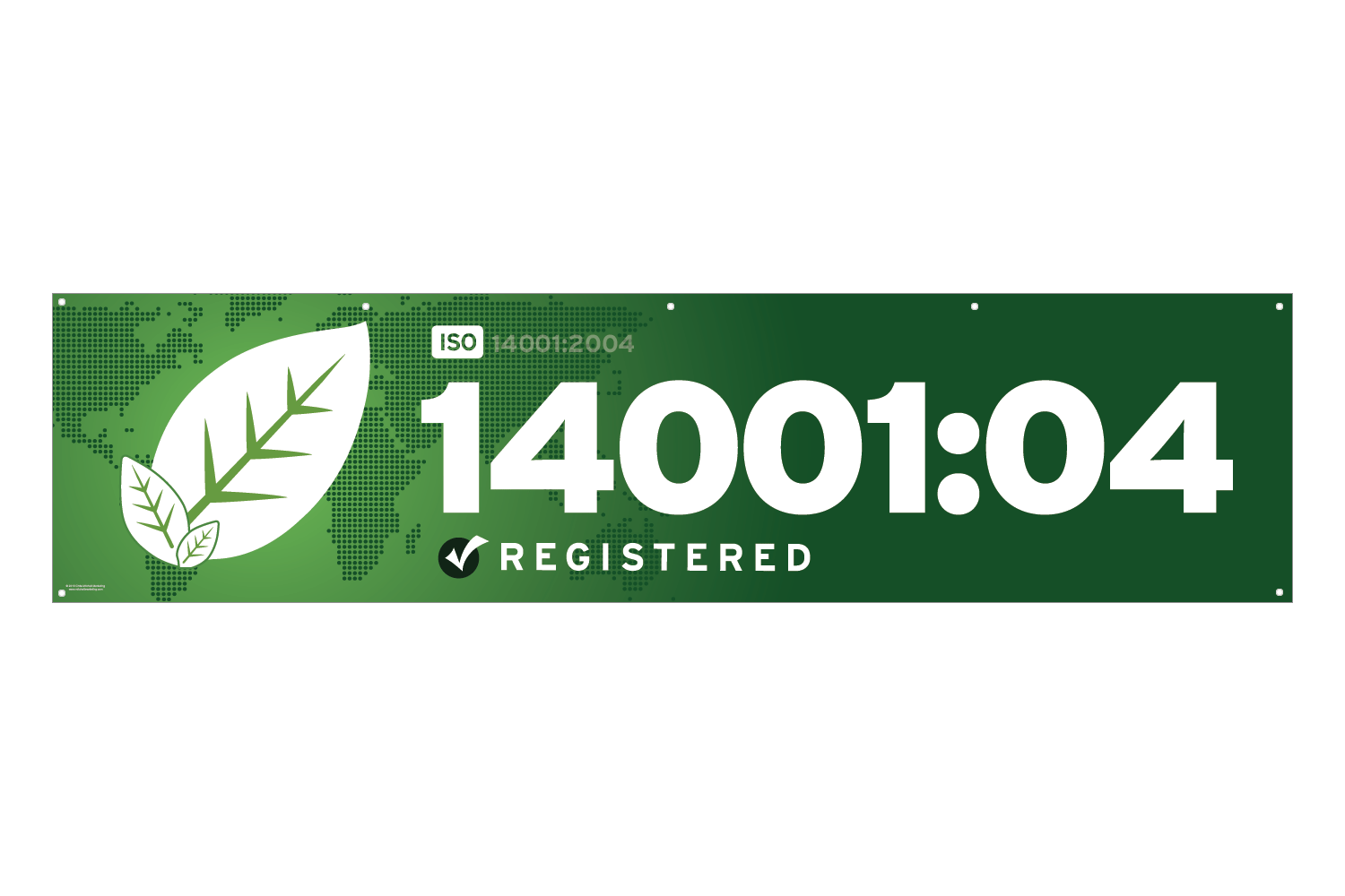 ISO 14001 2004 Banner