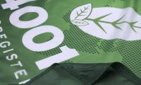 ISO 14001 2004 Flag Close Up