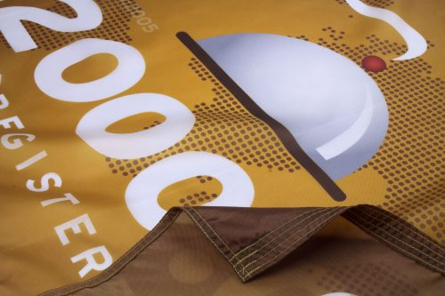 ISO 22000 2005 Flag Close Up